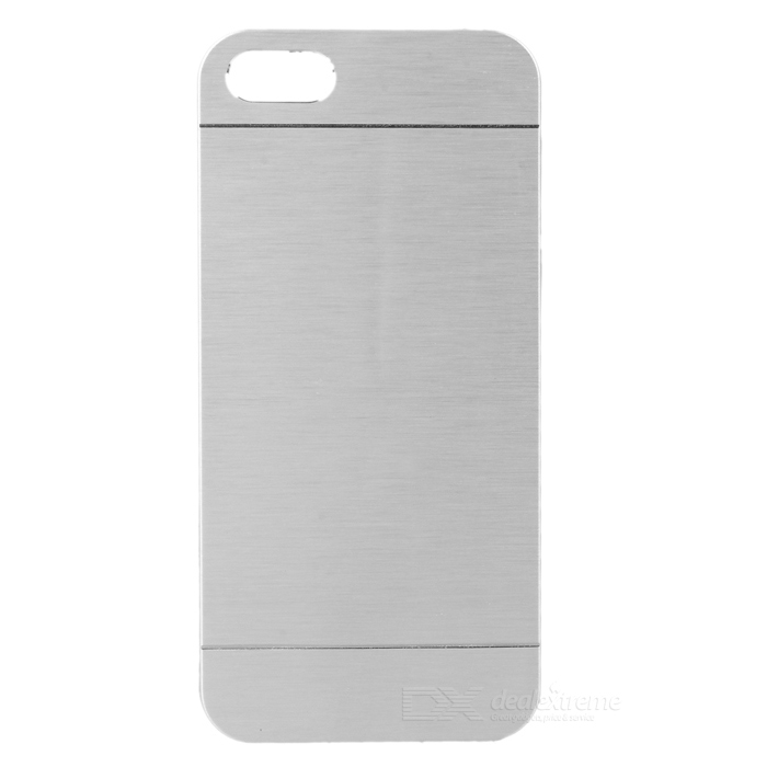 Kinston Brushed Aluminum Alloy Hard Case for IPHONE 5 / 5S - Silver