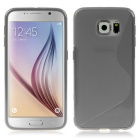 ENKAY S Design Protective TPU Back Case Cover for Samsung Galaxy S6 G9200 - Grey