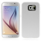 ENKAY Grid Pattern Protective Case for Samsung Galaxy S6 G9200 - White