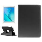 ENKAY 360 Degree Rotation Protective PU Case w/ Stand for Samsung Galaxy Tab A 9.7 T550 - Black