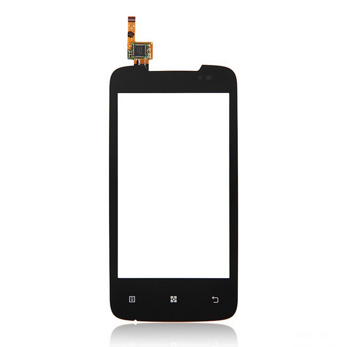 Replacement Mobile Phone Glass Touch Screen for Lenovo A390 - Black