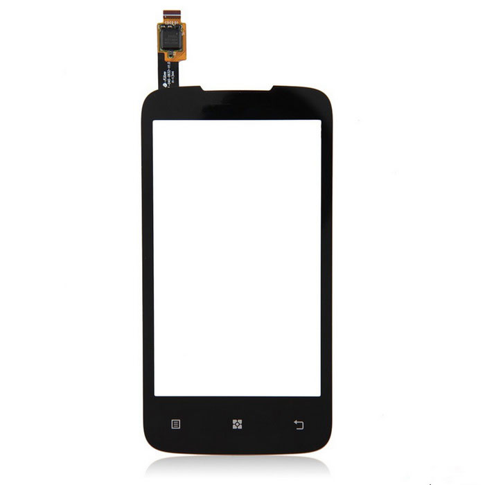 Replacement Mobile Phone Glass Touch Screen for Lenovo A376 - Black