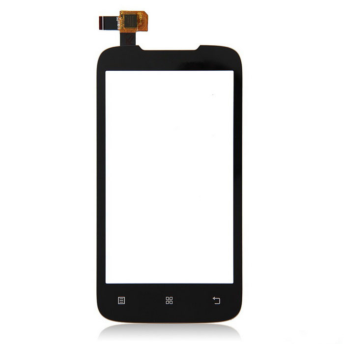 Replacement Mobile Phone Glass Touch Screen Panel for Lenovo A369 - Black