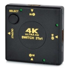 4K HDMI 1.4b 3-in-1 Out Switcher