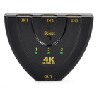 4K HDMI 1.4b-3 in 1-out Switcher