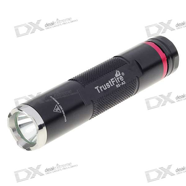 TrustFire R5-A3 3-Mode 230-Lumen Memory LED Flashlight w/ Cree XP-G-R5 (1*AA/1*14500)
