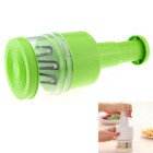 Stainless Steel Manual Pressing Vegetable Cut Tool Kitchen Knife