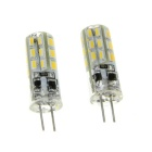 G4 2W LED Corn Lamps Warm White 3000K 230lm SMD 3014 (12V / 2 PCS)
