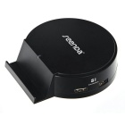 Seenda 25W 5V/5A 4-Port USB Smart Identification Charger w/ Stand Holder for Mobile&Tablet PC-Black