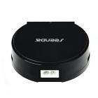 Seenda 25W 5V 5A 4-Port USB Smart Charger w/ Holder - Black