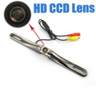 IP67 Waterproof CCD 170' Wide-Angle PAL Car Rear View Backup Lens Camera - Silver + Gun Color