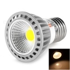 LeXing Lighting Dimmable E27 4W COB LED Spotlight Warm White 3500K 250lm (AC 220~240V)