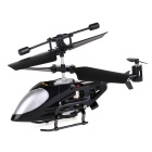 2.4GHz 3.5-CH Super Mini Infrared RC Helicopter w/ Gyro - Silver + Black