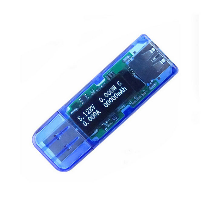 "Jtron 0.91"" OLED USB 3.0 Voltmeter Current Power Capacity Tester"