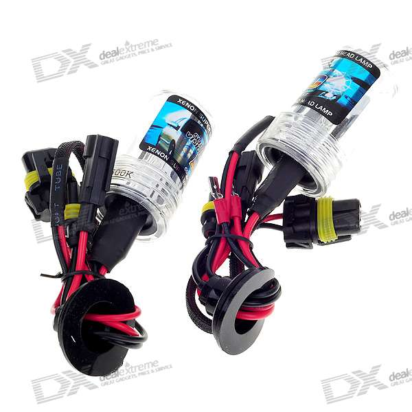 35W H7 4300K Super Vision Xenon HID Vehicle Warm White Light Headlamp Kit (2-Pack)
