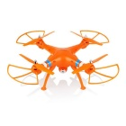 SYMA X8C 2.4GHz 4-CH 6-Axis Venture R/C Quadcopter RTF Helicopter w/ 2MP Wide Angle Camera - Orange