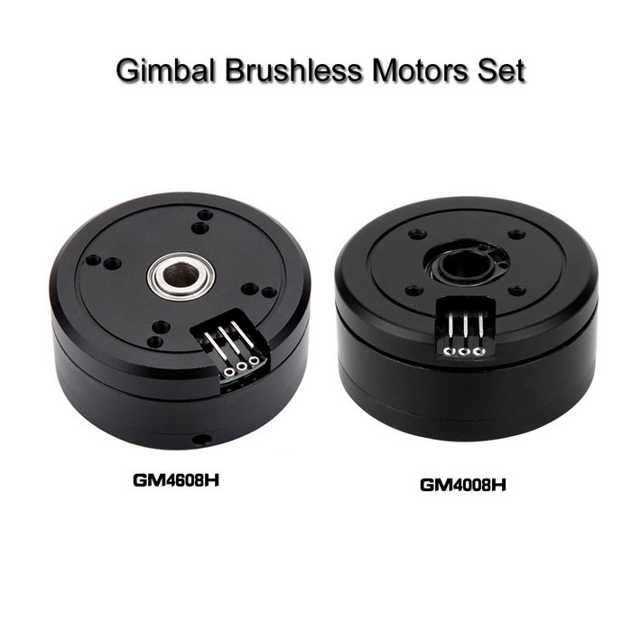 2*Brushless Gimbal Motors for Mini DSLR Camera 5N / 6N / 7N - Black