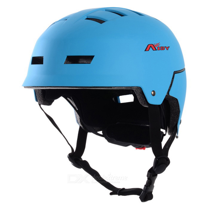 AIDY Thickened Breathable EPS Safety Helmet for Outdoor Cycling / Board-Skating - Blue