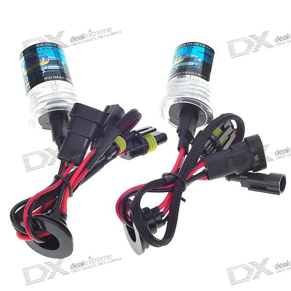 9006 4300K Vehicle Warm White Xenon HID Headlamp Complete Set (2-Pack)
