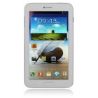 "AMPE A62 6.2"" IPS Dual-Core 3G Tablet PC w/ 8GB ROM, Phone call, Dual Camera, GPS - White"