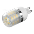G9 3W LED Corn Lamps w/ Cover Warm White 240lm 24-SMD - White (5PCS)