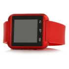 U8 sport nano smart BT V3.0 montre androïde avec obturateur à distance - rouge