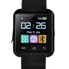 U8 Outdoor Sport Nano Smart Bluetooth V3.0 Android Wrist Watch w/ Remote Shutter / Pedometer - Black