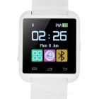 U8 Outdoor Sport Nano Smart Bluetooth V3.0 Android Wrist Watch w/ Remote Shutter / Pedometer - White