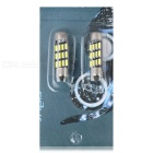 Festoon 36mm 2W LED Lights Cool White 38lm 12000K 12-4014 SMD (2PCS)