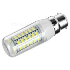 B22 9W LED Bulb Lamp Cold White Light 600lm 56-SMD 5730 (5PCS)