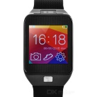 Wearable Bluetooth v4.0 Smart Watch for Android / iOS Cell Phone - Black + Silver