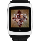 "Uwatch U18 Wearable 1.54"" Touch Screen Smart Watch w/ Bluetooth & Pedometer - Silver + Black"