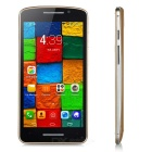 "MT6572 1.21GHz 5.0"" IPS Dual-Core Android 4.4.2 Smart Phone w/ 2GB ROM, 2.0MP Cam - Gold + Silver"