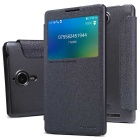 NILLKIN Flip-Open PU + PC Case for Lenovo K80 - Black