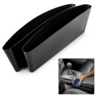 ABS Car Seat Pocket Catch Caddy / Storage Container - Black (2PCS)