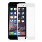 Tempered Glass Screen Protector Guard for IPHONE 6 PLUS - White + Transparent