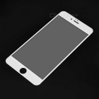 Tempered Glass Screen Protector for IPHONE 6PLUS - White + Transparent
