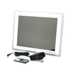 "13"" digital fotoramme m / kalender, video avspilling, SD, MMC, MS-spor"