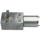 DC 6V 30RPM Square Type Mini DC Motor w/ Gear Torque Locking - Silver