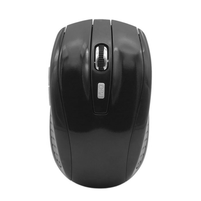 6-Key Bluetooth V3.0 Wireless Mouse LED para Win8 - Negro (2 * AAA)