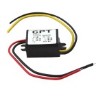 DC 12V to DC 5V 3A DC-DC Step-Down Power Supply Car Power Converter - Black