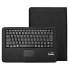 "Removable 84-Key BT Keyboard PU Case for Surface 3 10.8"" - Black"