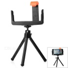 E-Shaped Mobile Phone Mount Holder + Tripod + Mirror - Black