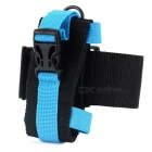 Outdoor Nylon Sports Armband for Samsung + IPHONE + SONY + HTC + More - Blue + Black
