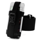 Outdoor Nylon Sports Armband for Samsung + IPHONE + More - Black