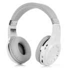 Bluedio Universal Wireless Bluetooth V4.1 Stereo Headband Headphones Headsets w/ Mic. - White