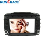 Rungrace 8-inch 2 Din In-Dash Car DVD Player for Kia Sorento w/ Bluetooth, GPS, RDS, CANBUS