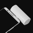 Portable Mini 3.5mm Plug Speaker for Mobile Phones, Tablets- White