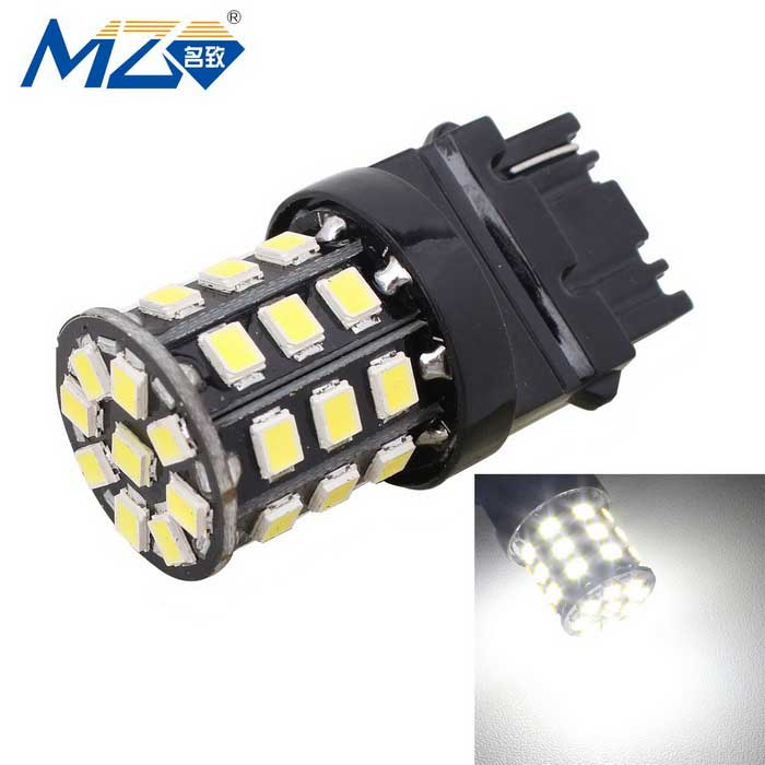 MZ T25 3.3W White LED Car Rear Fog Lamp w/ Constant Current - Black