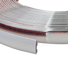 Car Door Window Reflective Decorative Strip Sticker - Silver (13m)